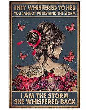 I Am The Storm Breast Cancer 11x17 Poster front