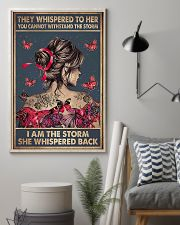 I Am The Storm Breast Cancer 11x17 Poster lifestyle-poster-1