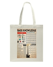 Guitar Bass Knowledge Tote Bag tile