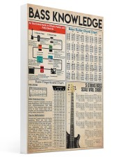 Guitar Bass Knowledge 16x24 Gallery Wrapped Canvas Prints thumbnail