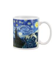 Pug Starry Night Mug tile