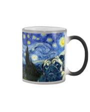 Pug Starry Night Color Changing Mug tile