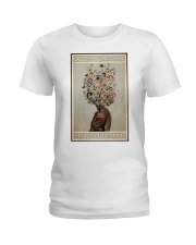 Lose Your Mind In Wine and Music Ladies T-Shirt thumbnail