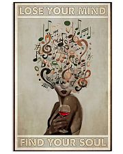 Lose Your Mind In Wine and Music 11x17 Poster front