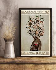 Lose Your Mind In Wine and Music 11x17 Poster lifestyle-poster-3