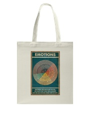 Emotions Are Much Like Waves Tote Bag thumbnail