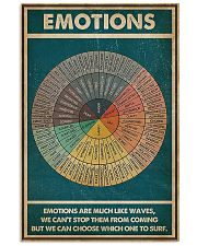 Emotions Are Much Like Waves 11x17 Poster front