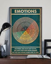 Emotions Are Much Like Waves 11x17 Poster lifestyle-poster-2