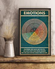 Emotions Are Much Like Waves 11x17 Poster lifestyle-poster-3
