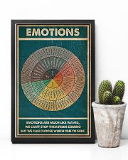 Emotions Are Much Like Waves 11x17 Poster lifestyle-poster-8