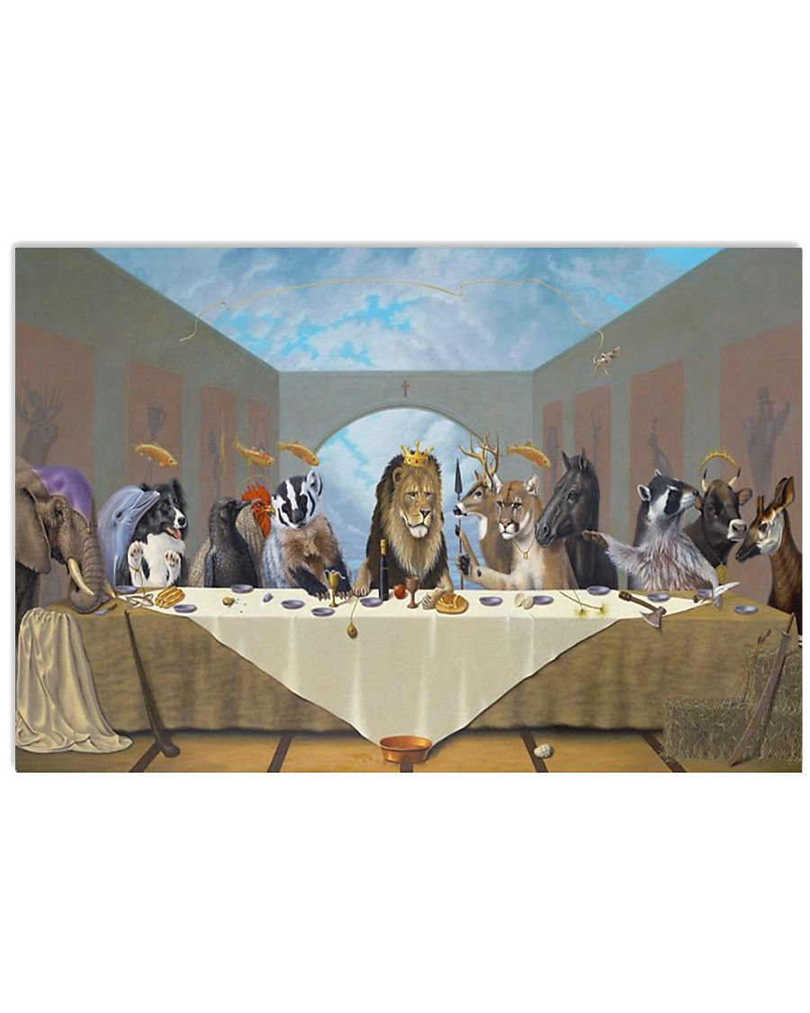 The Last Supper 17x11 Poster
