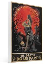 Til Death Do Us Part 16x24 Gallery Wrapped Canvas Prints thumbnail