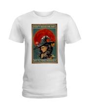 Vintage Witch Halloween Ladies T-Shirt thumbnail
