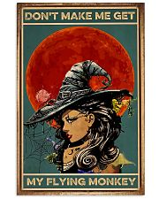 Vintage Witch Halloween 11x17 Poster front