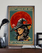 Vintage Witch Halloween 11x17 Poster lifestyle-poster-2