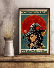 Vintage Witch Halloween 11x17 Poster lifestyle-poster-3
