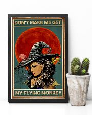 Vintage Witch Halloween 11x17 Poster lifestyle-poster-8