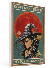 Vintage Witch Halloween 16x24 Gallery Wrapped Canvas Prints thumbnail
