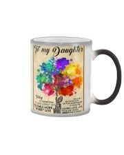 To My Daughter Color Changing Mug thumbnail