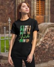 Until The Irish Show Up  Classic T-Shirt apparel-classic-tshirt-lifestyle-06