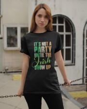 Until The Irish Show Up  Classic T-Shirt apparel-classic-tshirt-lifestyle-19