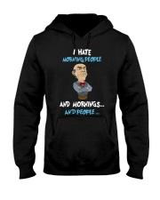 Muppet Hate People Hooded Sweatshirt thumbnail