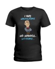 Muppet Hate People Ladies T-Shirt thumbnail