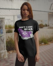 Don't Care Bear Classic T-Shirt apparel-classic-tshirt-lifestyle-18