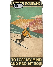 He Loves Skiing Phone Case thumbnail