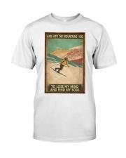 He Loves Skiing Classic T-Shirt thumbnail