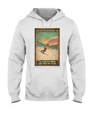 He Loves Skiing Hooded Sweatshirt thumbnail