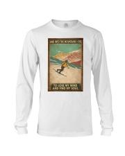 He Loves Skiing Long Sleeve Tee thumbnail
