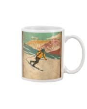 He Loves Skiing Mug thumbnail