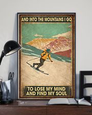 He Loves Skiing 11x17 Poster lifestyle-poster-2
