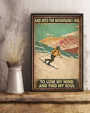 He Loves Skiing 11x17 Poster lifestyle-poster-3