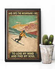 He Loves Skiing 11x17 Poster lifestyle-poster-8