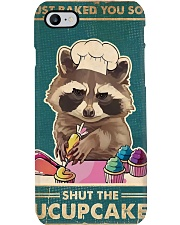 Raccoon Some Shut The Fucupcakes Phone Case tile