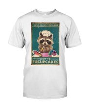Raccoon Some Shut The Fucupcakes Classic T-Shirt thumbnail