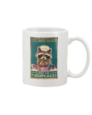 Raccoon Some Shut The Fucupcakes Mug thumbnail