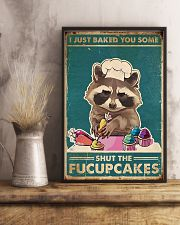 Raccoon Some Shut The Fucupcakes 11x17 Poster lifestyle-poster-3