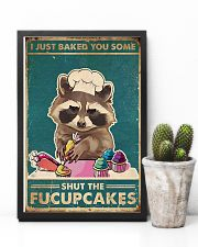 Raccoon Some Shut The Fucupcakes 11x17 Poster lifestyle-poster-8