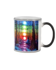 Meditation In The Woods Color Changing Mug thumbnail