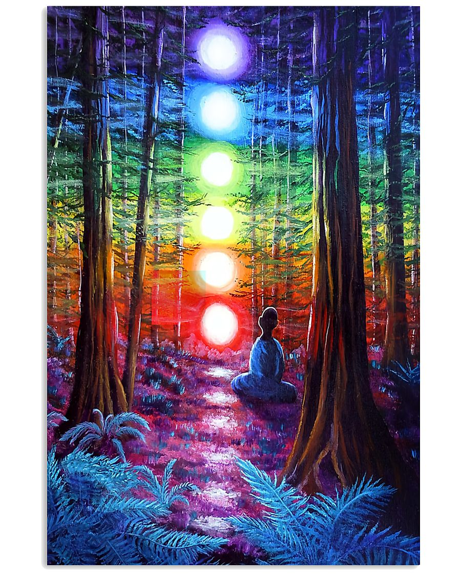 Meditation In The Woods 16x24 Poster