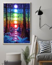 Meditation In The Woods 16x24 Poster lifestyle-poster-1