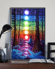 Meditation In The Woods 16x24 Poster lifestyle-poster-2