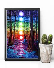 Meditation In The Woods 16x24 Poster lifestyle-poster-8