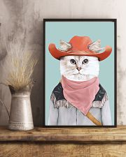 Rodeo Cat 11x17 Poster lifestyle-poster-3