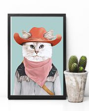 Rodeo Cat 11x17 Poster lifestyle-poster-8