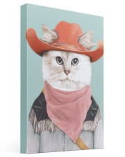 Rodeo Cat 16x24 Gallery Wrapped Canvas Prints thumbnail