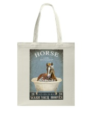 Horse Girl Horse Bath Soap Wash Tote Bag thumbnail